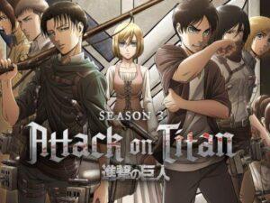 Attack on Titan Season 3 english subtitles
