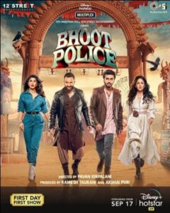 Bhoot Police movie English Subtitles