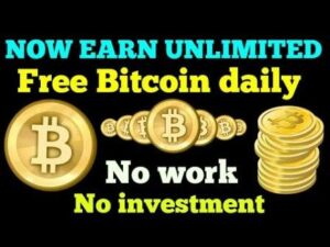 (Free) How to earn unlimited bitcoin without investment Free btc earn money